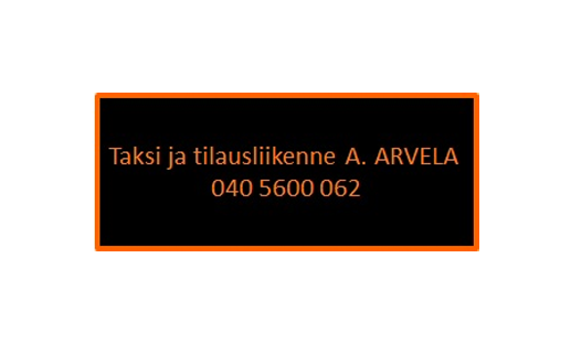 Taksi- ja tilausliikenne A. Arvela